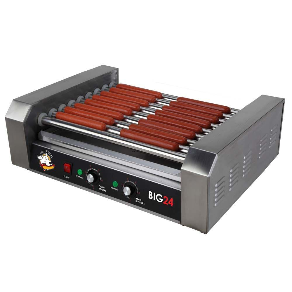 Funtime Roller Dog Hot Dog Roller Grill-RDB24SS
