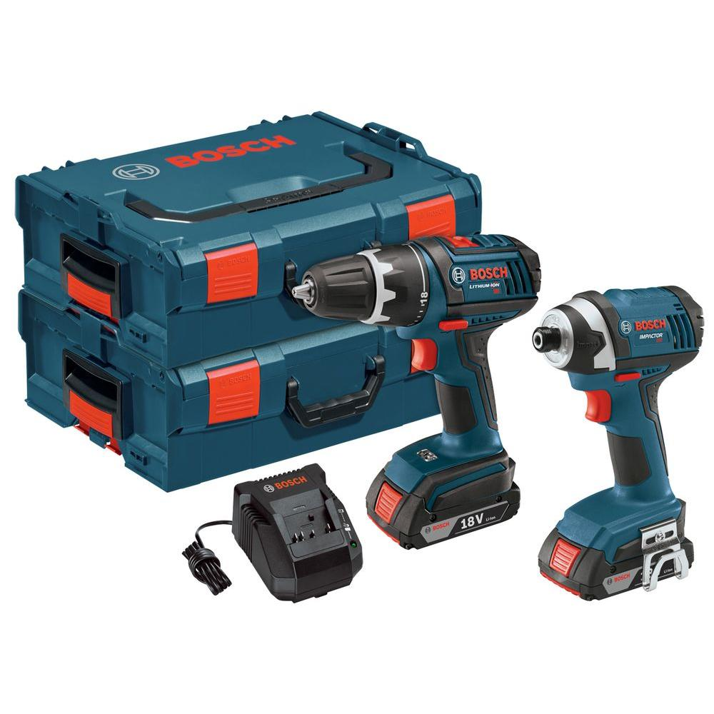 18-Volt Lithium-Ion 2 Tool Cordless Combo Kit