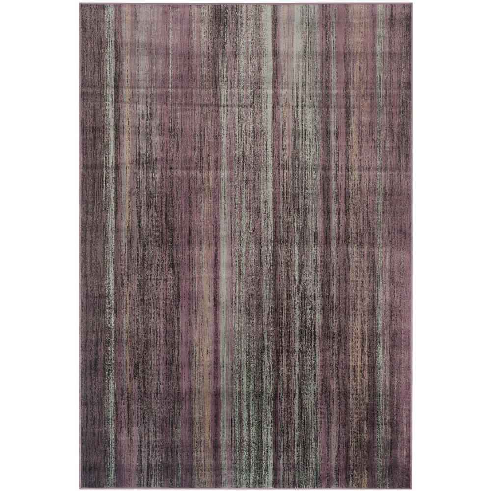 Vintage Charcoal/Multi 4 ft. x 5 ft. 7 in. Area Rug