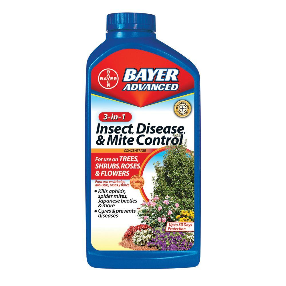 Bayer Advanced 32 oz. Concentrate 3-in-1 Insect, Disease and Mite Control