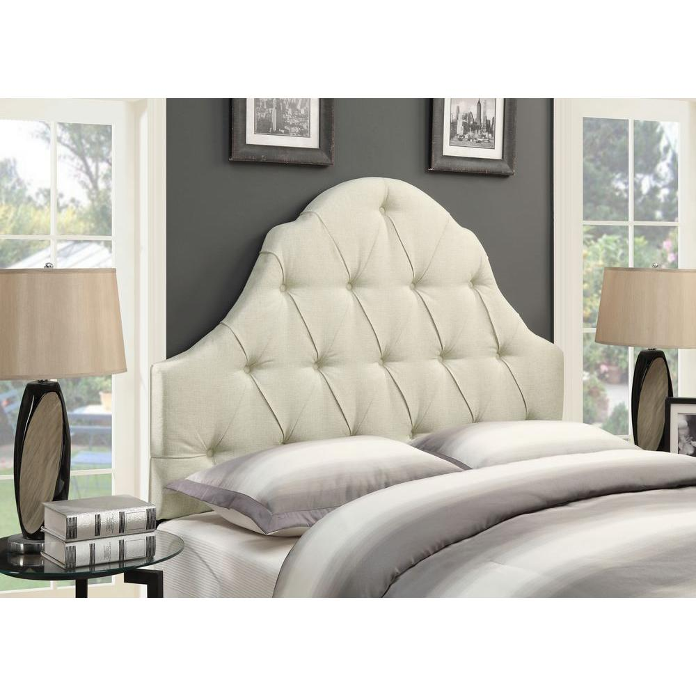 Pulaski Furniture Upholstered Full/Queen Headboard in Beige-DS-D015-250-433 -