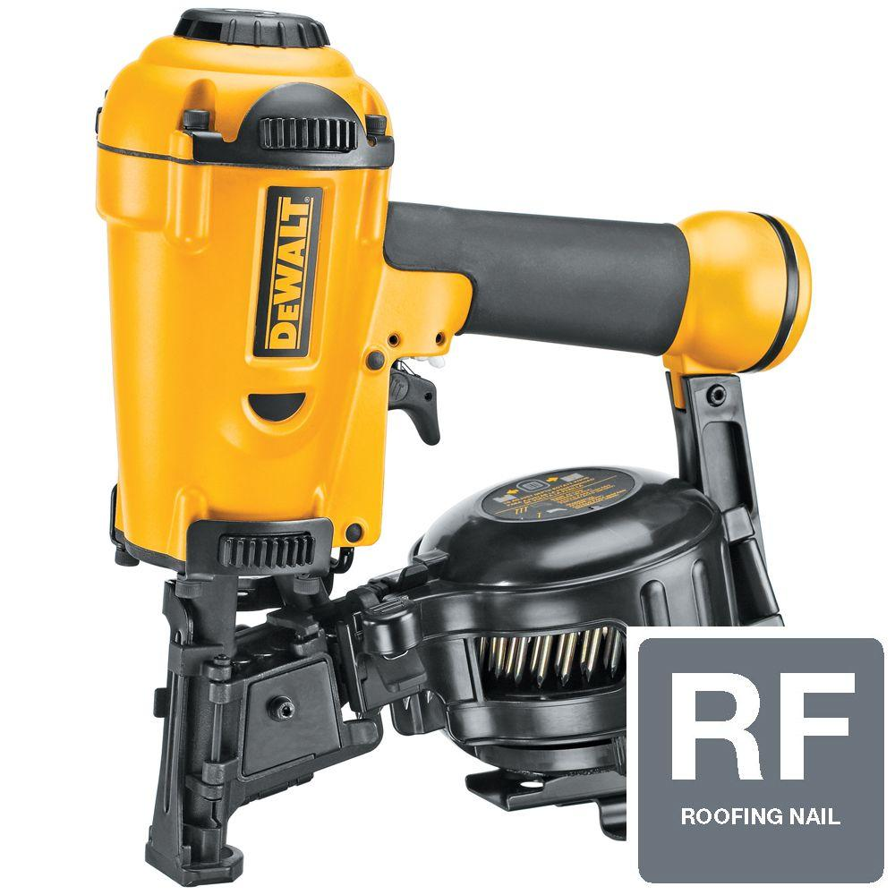 DEWALT 3/4 in. to 1-3/4 in. Coil Roofing Nailer