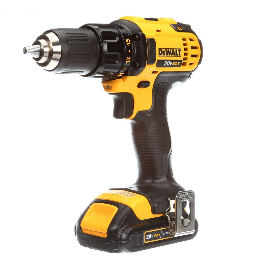 20-Volt Max Lithium-Ion Cordless Compact Drill/Driver