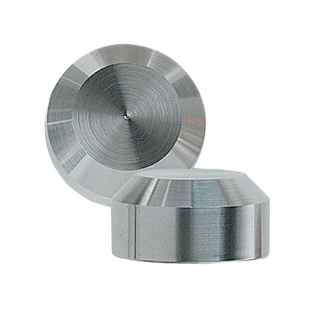 3/8 in. Stainless Steel Chamfer End Cap for Cable Railing System