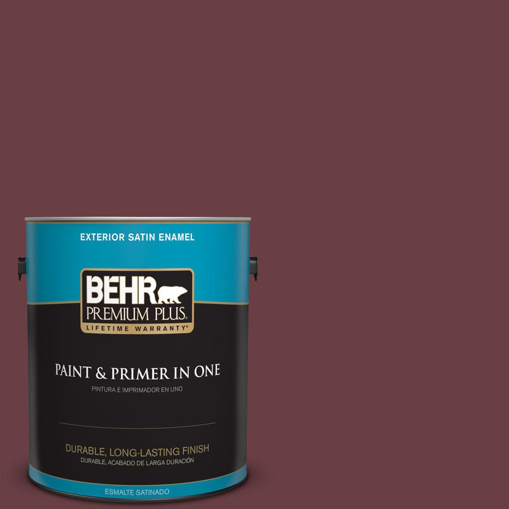 1-gal. #T14-11 Imperial Jewel Satin Enamel Exterior Paint