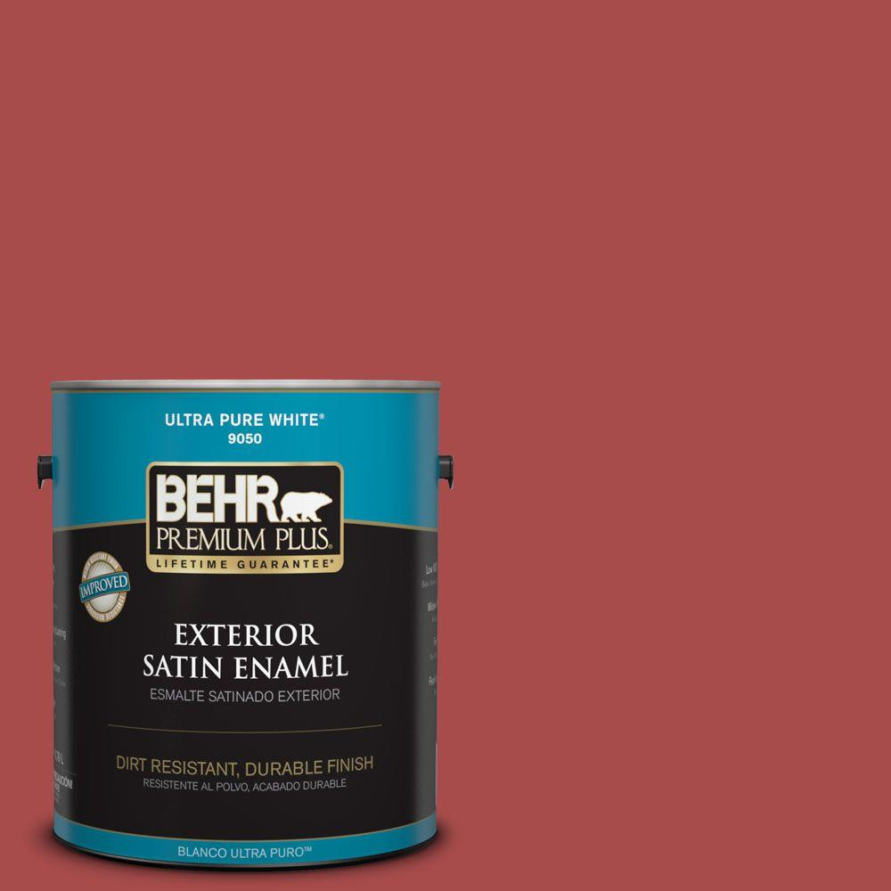 BEHR Premium Plus Home Decorators Collection 1-gal. #HDC-CL-09 Persimmon Red