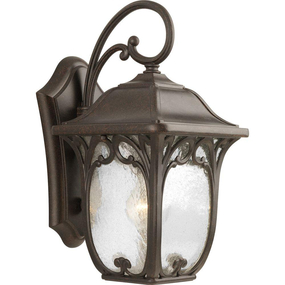 Progress Lighting Enchant Collection 1-Light Espresso Wall Lantern-P5959-84 -