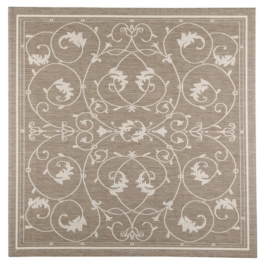 tendril taupechampagne 7 ft 6 in x 7 ft 6 in - Home Decorators Outdoor Rugs