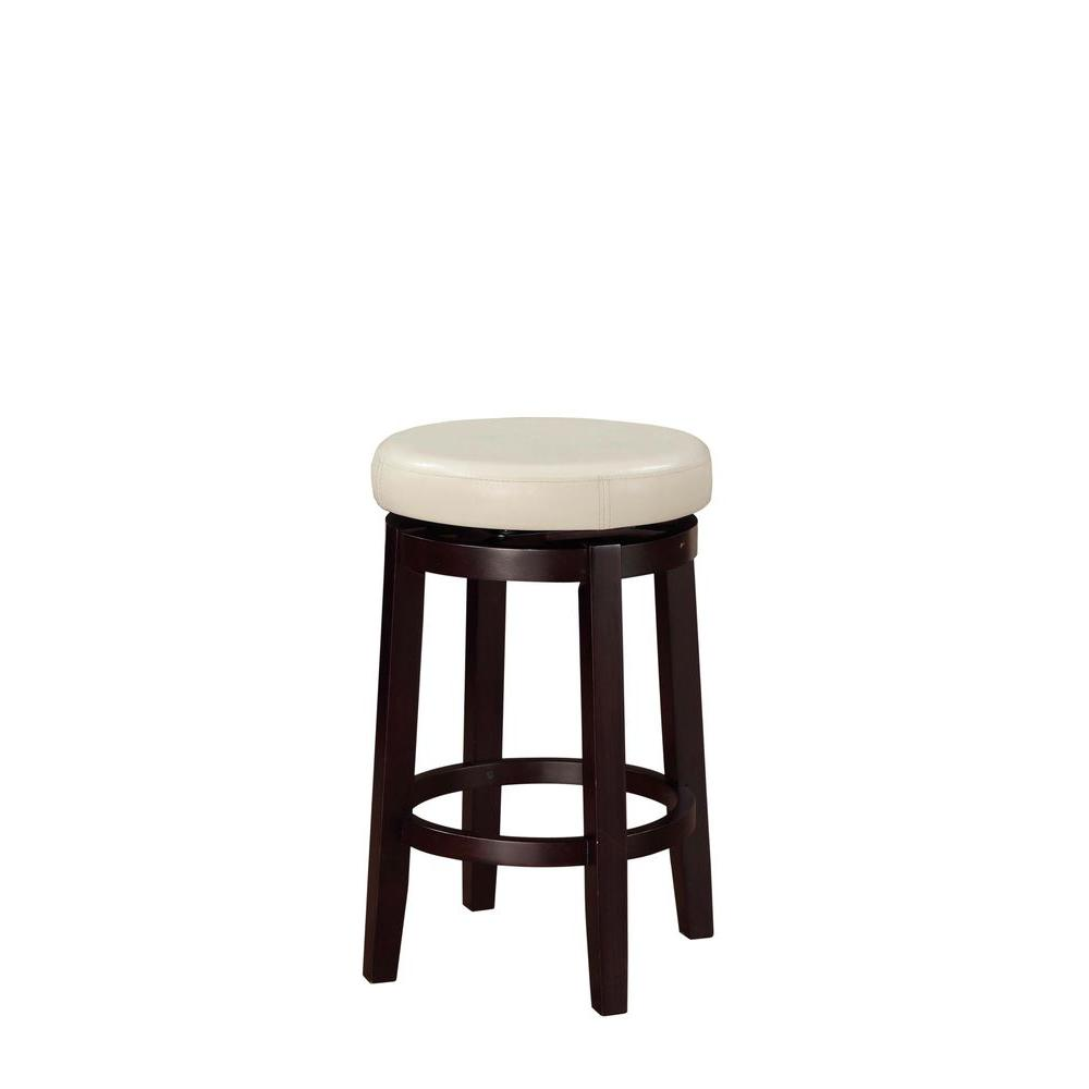 Linon Home Decor Maya Counter Stool In Rice 98352kric 01