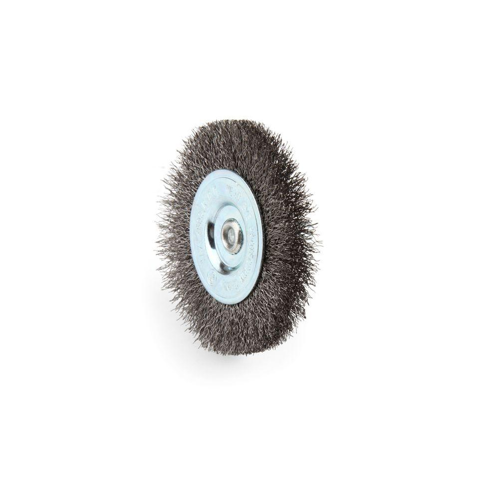 Lincoln Electric 3 in. Circular Fine Wire Brush-KH278 - The Home