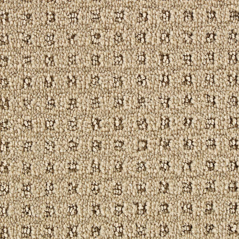 Martha Stewart Living Springwood Brown Alpaca - 6 in. x 9 in. Take Home Carpet Sample