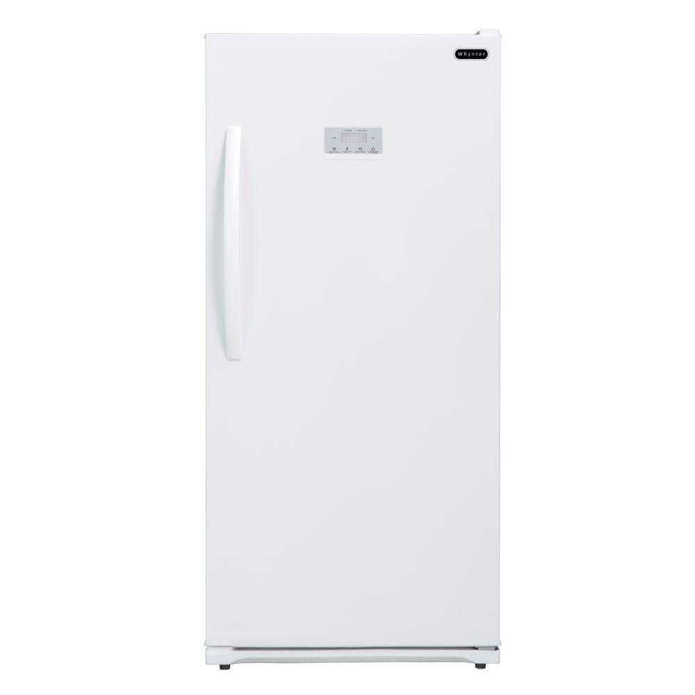 Whynter 13.8 cu. ft. Energy Star Digital Upright Deep Freezer in White