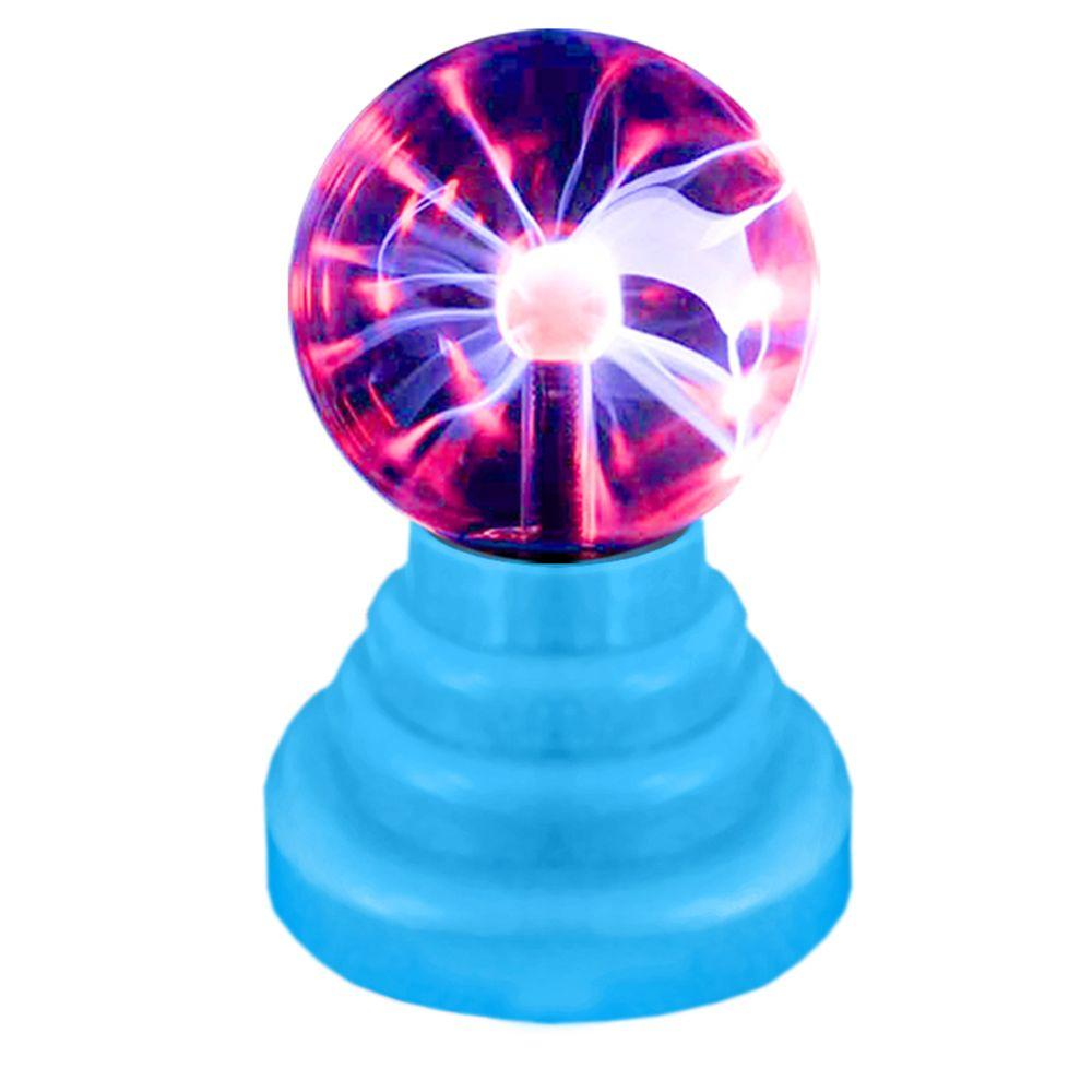 Rock Your Room 3in. Blue Mini Plasma Orb Light-DISCONTINUED