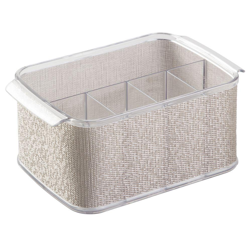 interDesign Twillo Cutlery Caddy in Metallico-34982 - The Home Depot