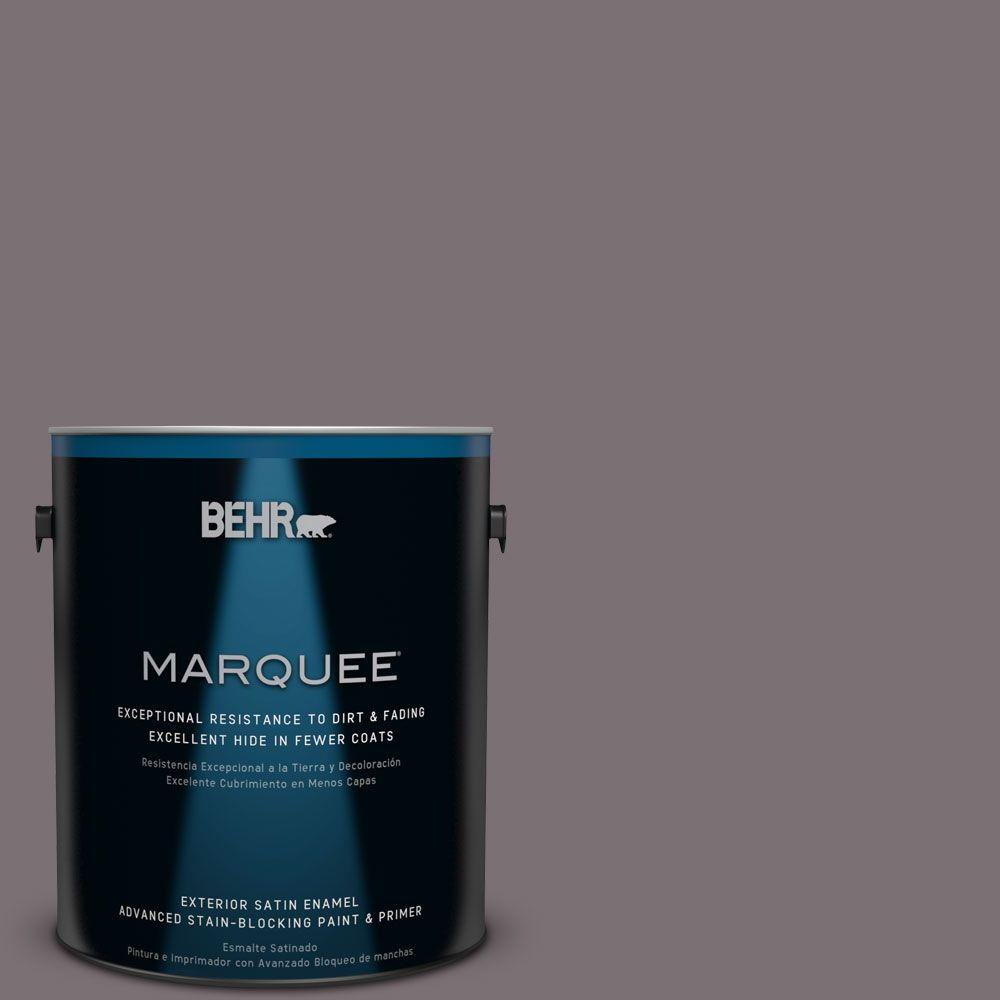 BEHR MARQUEE Home Decorators Collection 1-gal. #HDC-AC-27 Heather Sachet Satin