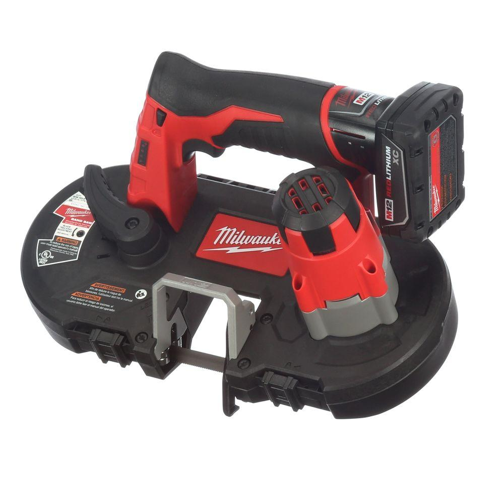 milwaukee portable band saw milwaukee m12 12 volt lithium ion cordless sub compact 28689