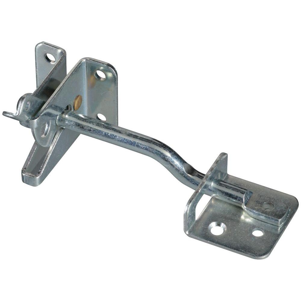 National Hardware MaxLatch 6 in. Zinc-Plated Gate Latch-DPB21A ADJ LATCHZN FOR