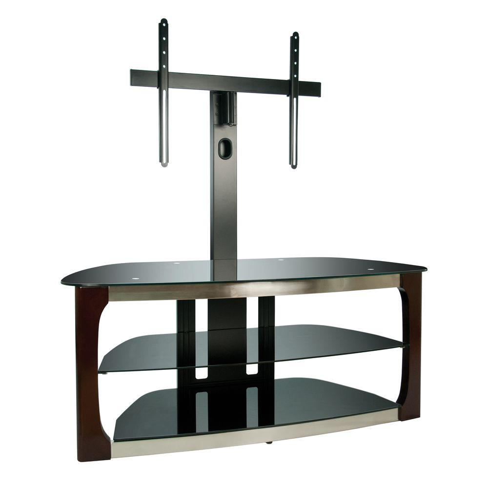 Bell O 52 In Triple Play Audio Video Tv Stand With Swivel