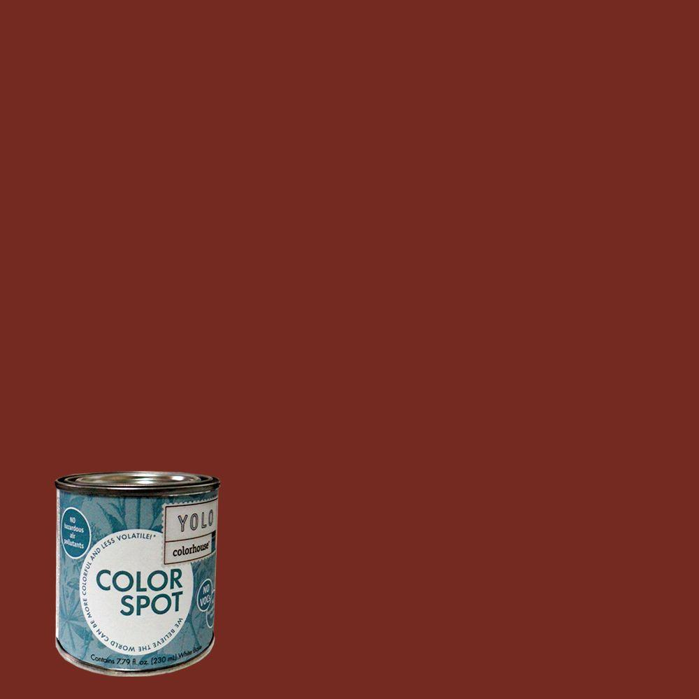 YOLO Colorhouse 8 oz. Clay .05 ColorSpot Eggshell Interior Paint Sample-DISCONTINUED