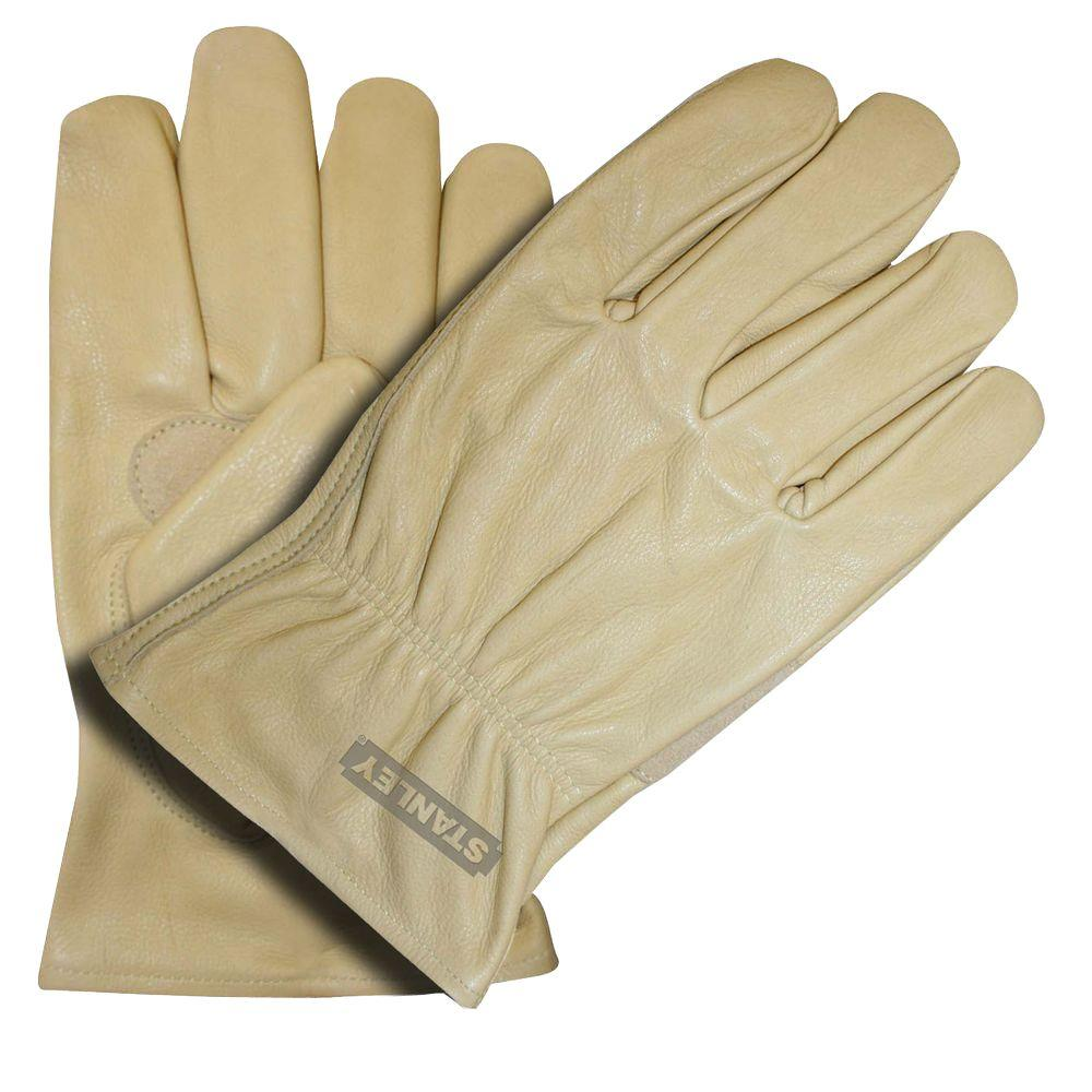 Stanley Grain Cowhide X-Large Driver Glove with Palm Patch