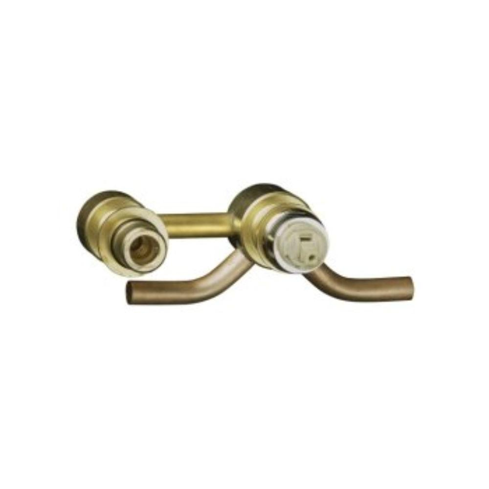 null 5/8 in. x 5/8 in. Brass Sweat x Sweat Single-Control Wall-Mount Ceramic Valve