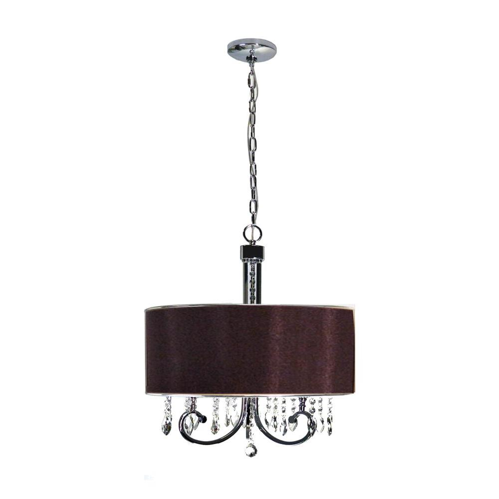 Marquis Lighting 3-Light Polished Chrome Chandelier