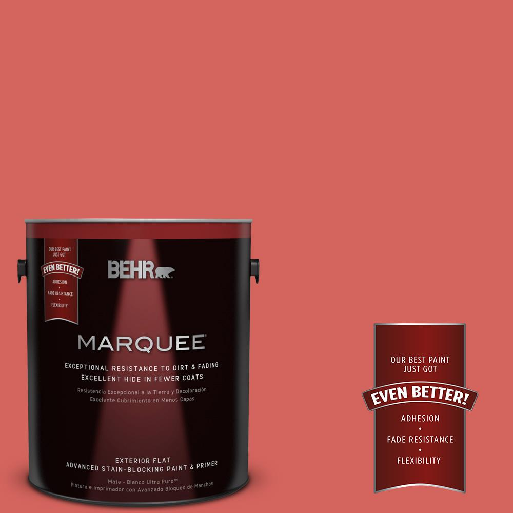 Home Decorators Collection 1-gal. #HDC-MD-05 Desert Coral Flat Exterior Paint