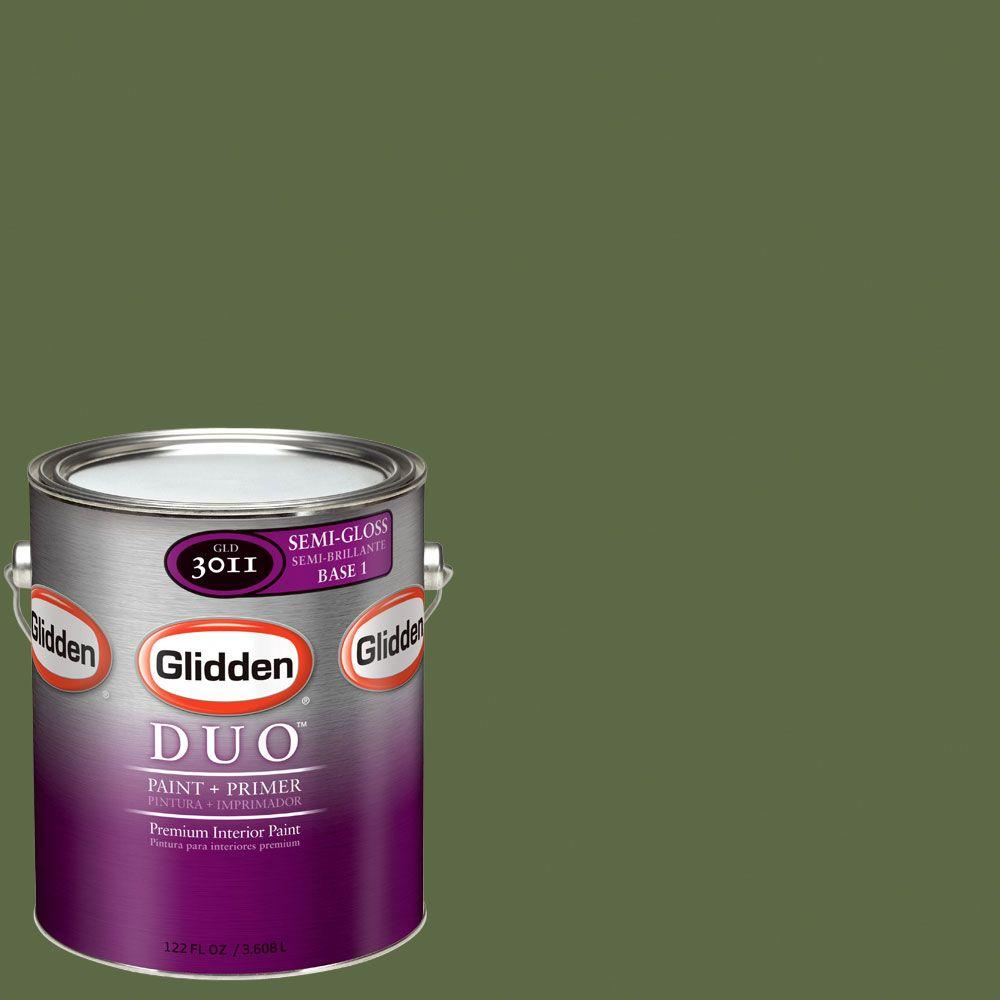 Glidden DUO Martha Stewart Living 1-gal. #MSL109-01S Timothy Hay Semi-Gloss Interior Paint with Primer - DISCONTINUED