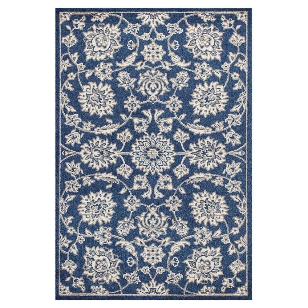 Kas Rugs Umbria Blue 5 ft. 3 in. x 7 ft.