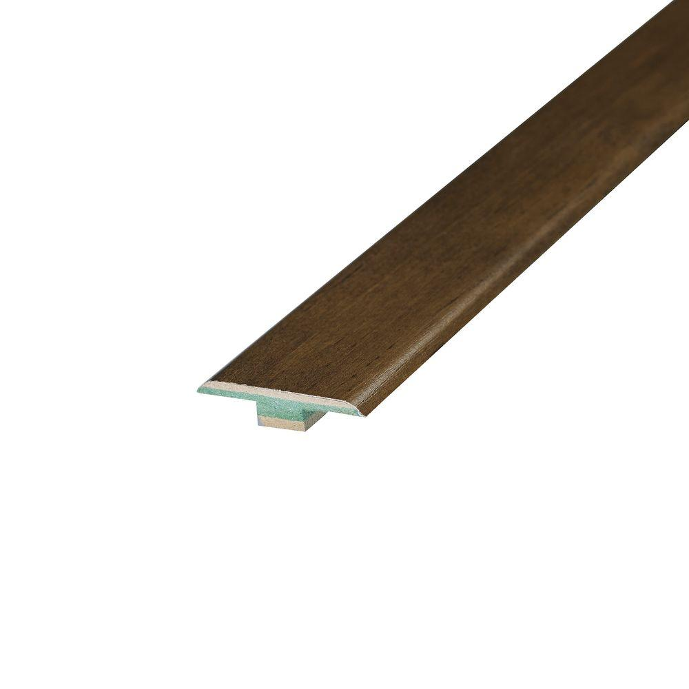 Shaw Multi Color Coordinating 3/8 in. Thick x 1-3/4 in. Wide x 94 in. Length Laminate T-Molding