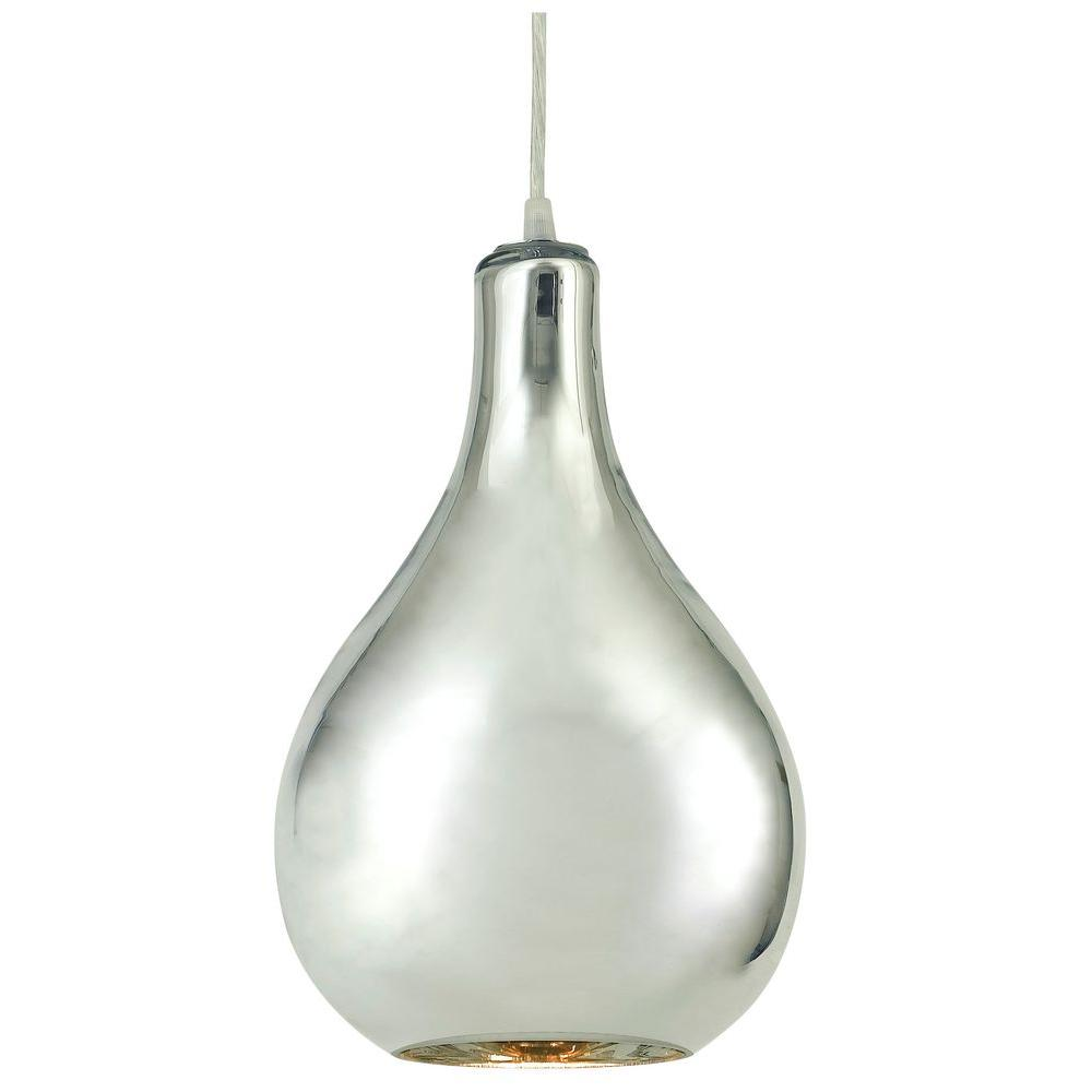 Kenroy Home Mercury 1 Light 13 in. Mercury Pendant -DISCONTINUED