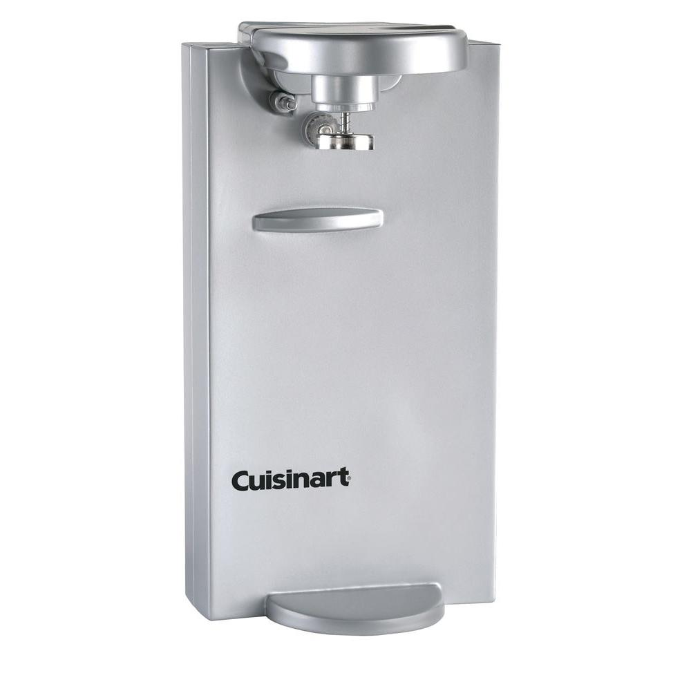 Cuisinart Brushed Chrome Electric Can Opener -DISCONTINUED