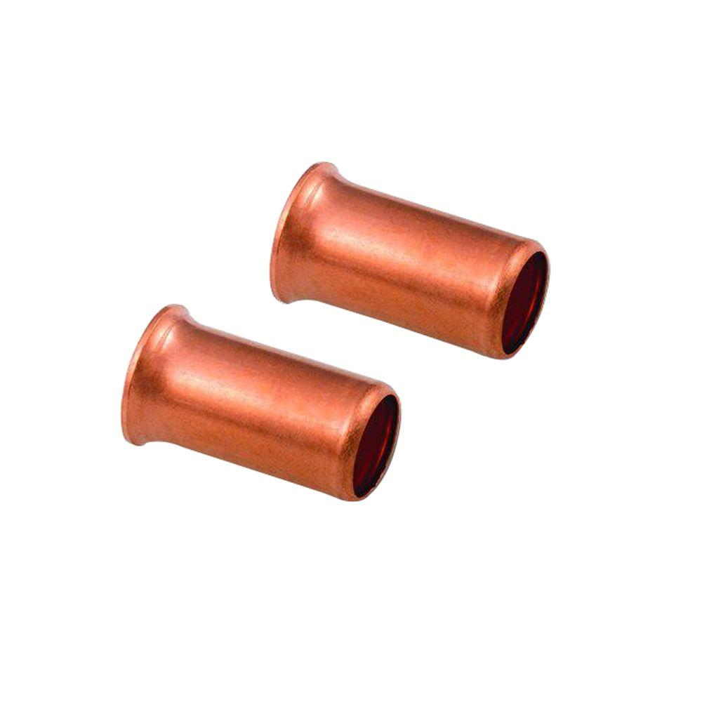 18-10 AWG, Copper Crimp Sleeves (100-Pack)