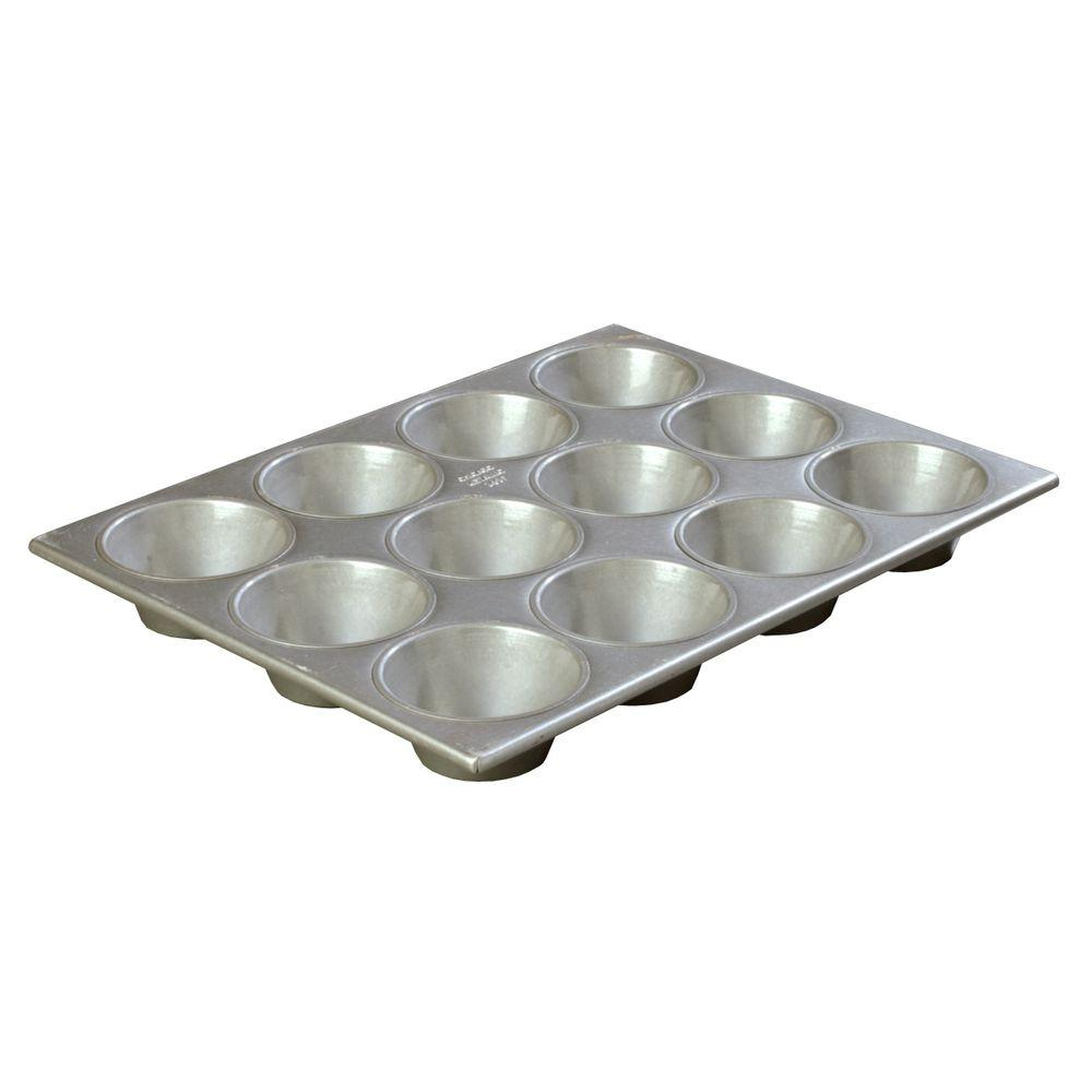 Steeluminum 12-Cup Heavy Duty Muffin/Cupcake Pan, Extra Large 6.00 oz./Cup (Case