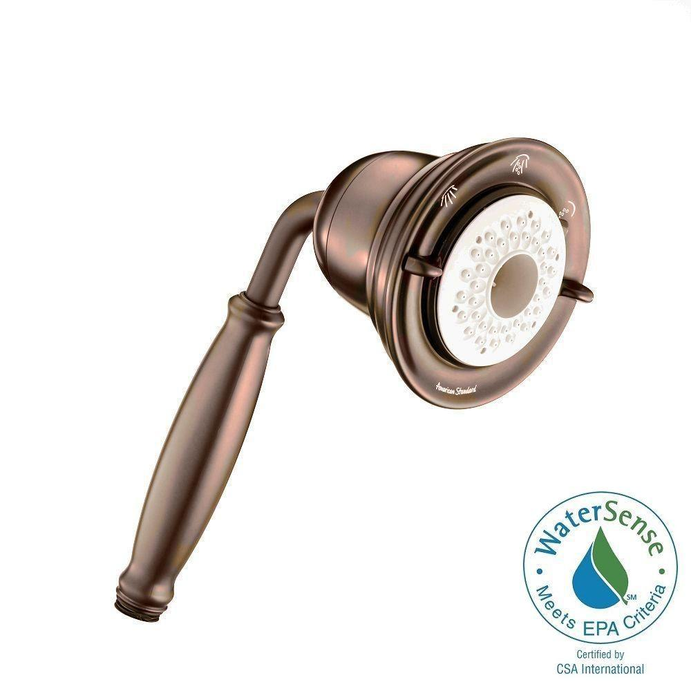 American Standard FloWise Traditional Water-Saving 3-Spray Hand Shower in Oil Rubbed Bronze