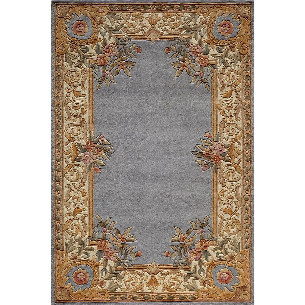 Chateau Blue 8 ft. x 11 ft. Indoor Area Rug