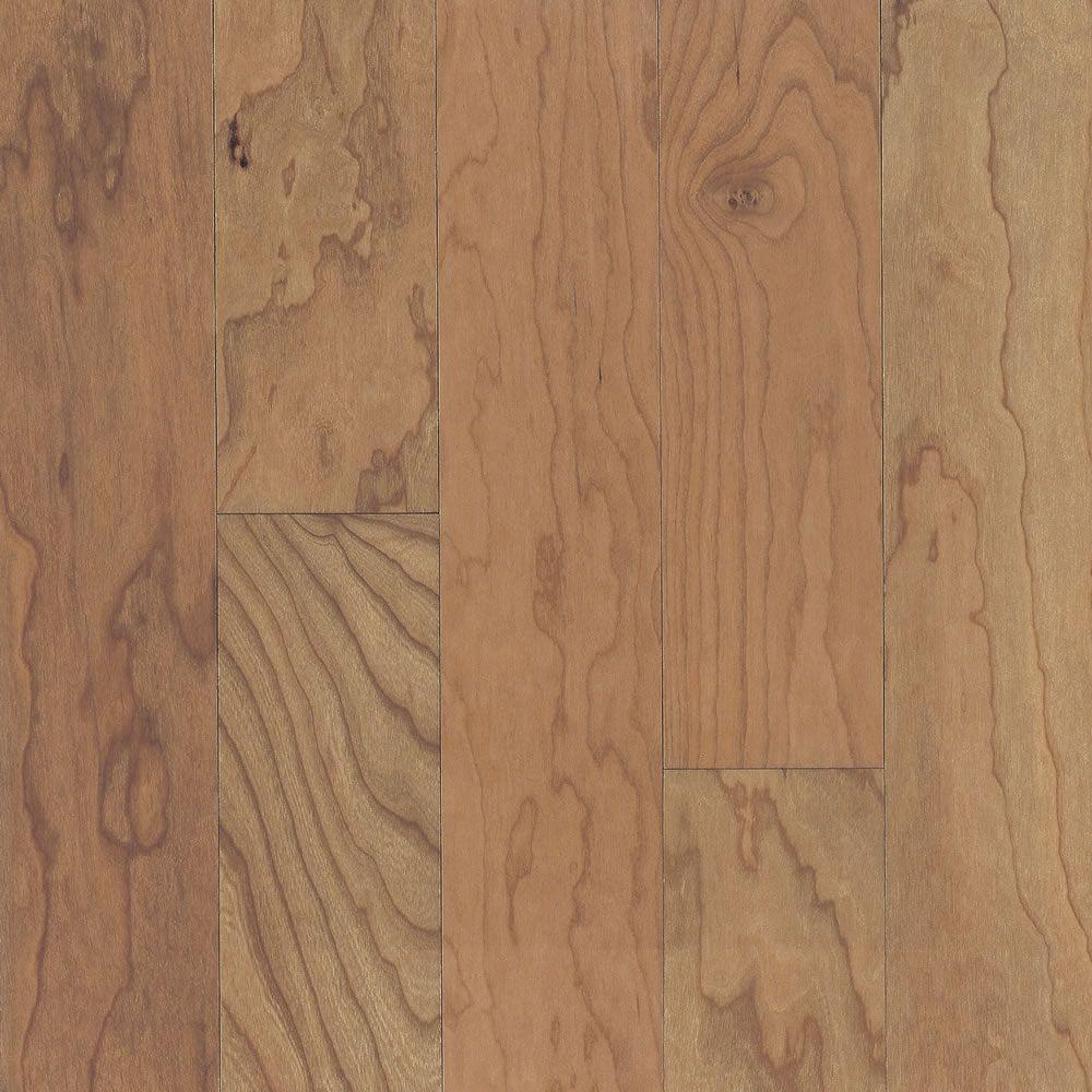 Engineered American Cherry Natural Hardwood Flooring - 5 in. x 7 in. Take Home Sample, Natural American Cherry