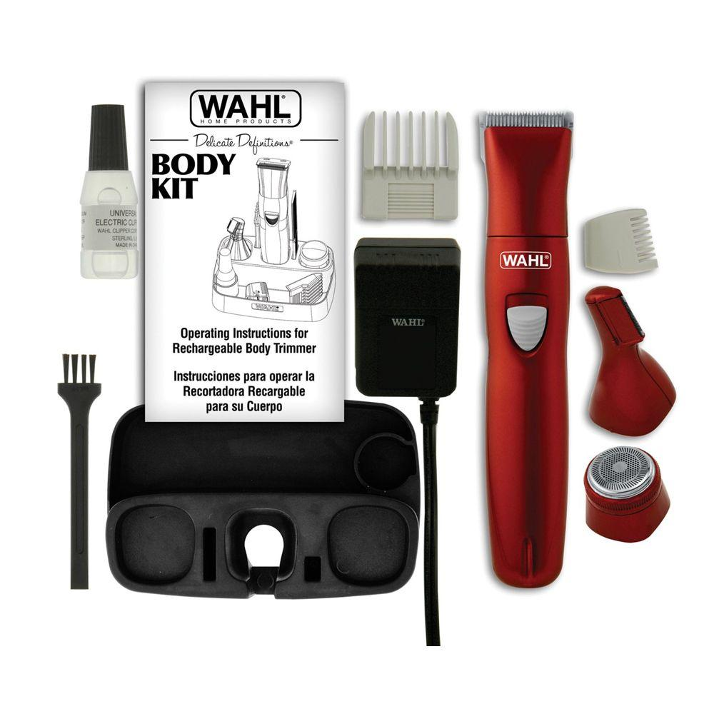 null Wahl 9865-100 Delicate Definitions Body Kit with Ladies Rechargeable Trimmer/Shaver/Detailer-DISCONTINUED
