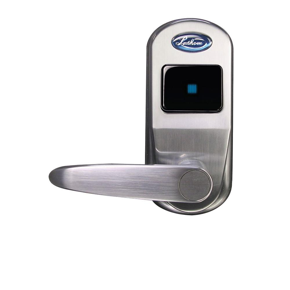 Lathem Left Keyless Entry Security Interior Door Lock-DISCONTINUED