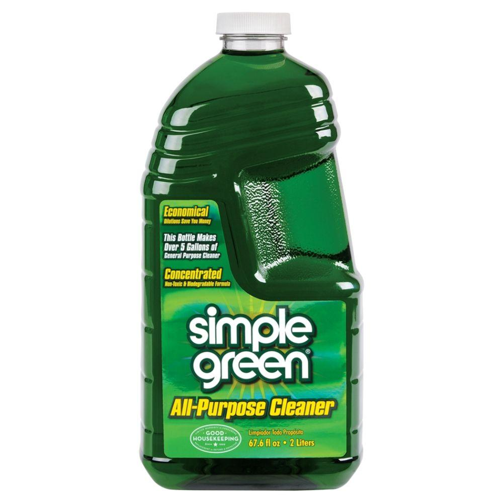 Simple Green 67 oz. Concentrated All-Purpose Cleaner (Case of 6)-2710000613014 -