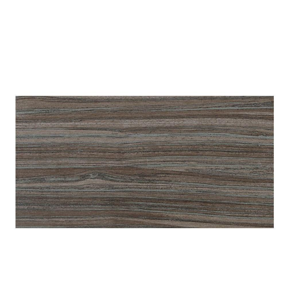 Veranda Bamboo Forest 6-1/2 in. x 20 in. Porcelain Floor and