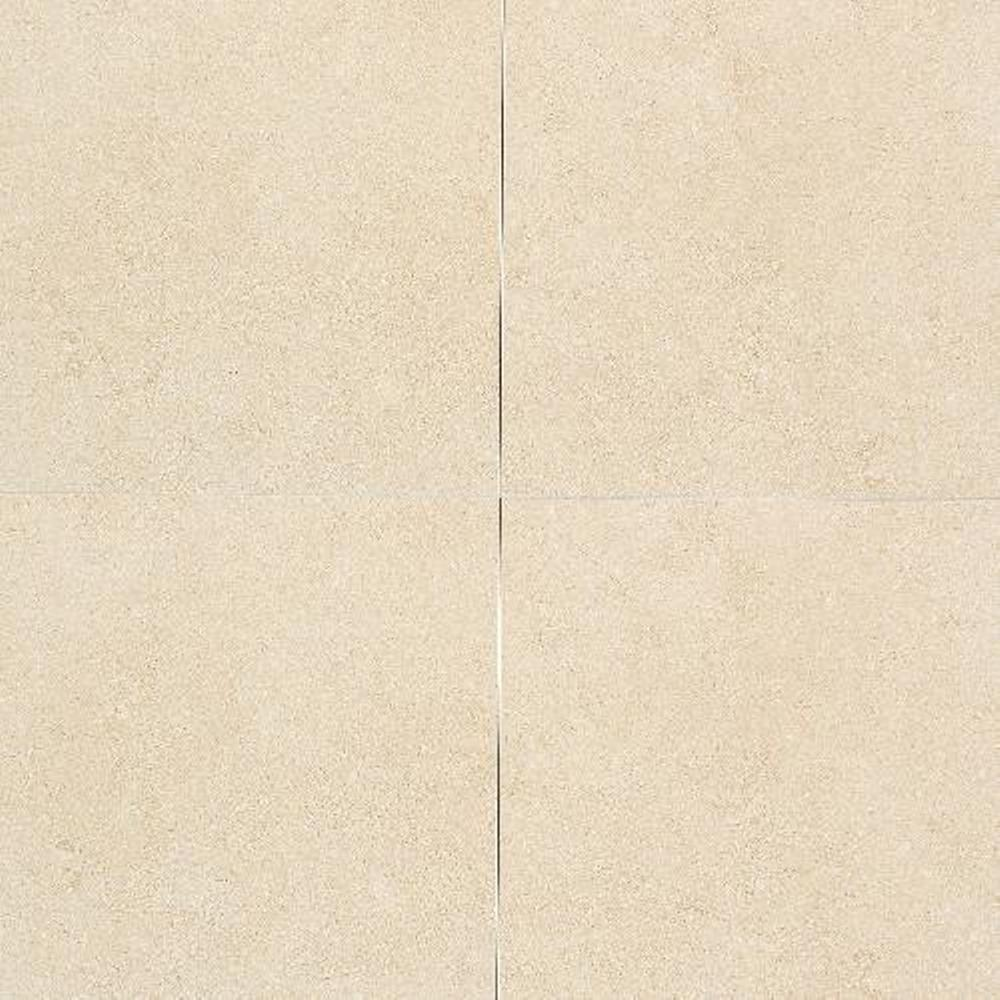 Daltile City View Harbour Mist 12 in. x 12-1/4 in. Porcelain Floor and Wall Tile (10.65 sq. ft. / case), Beige/Ivory