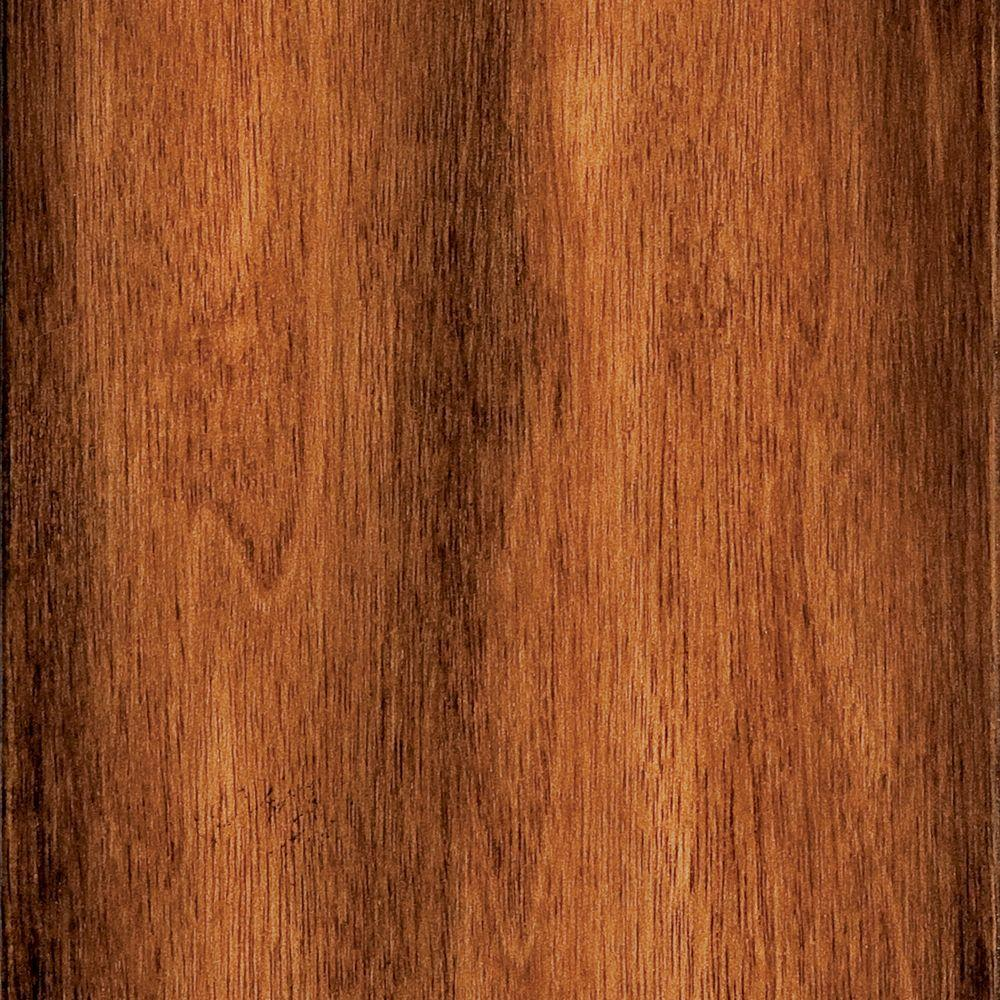 Hand Scraped Manchurian Walnut 3/8 in. x 4-7/8 in. x 47-1/4 in. Click Lock Exotic Hardwood Flooring (26.05 sq. ft./case)