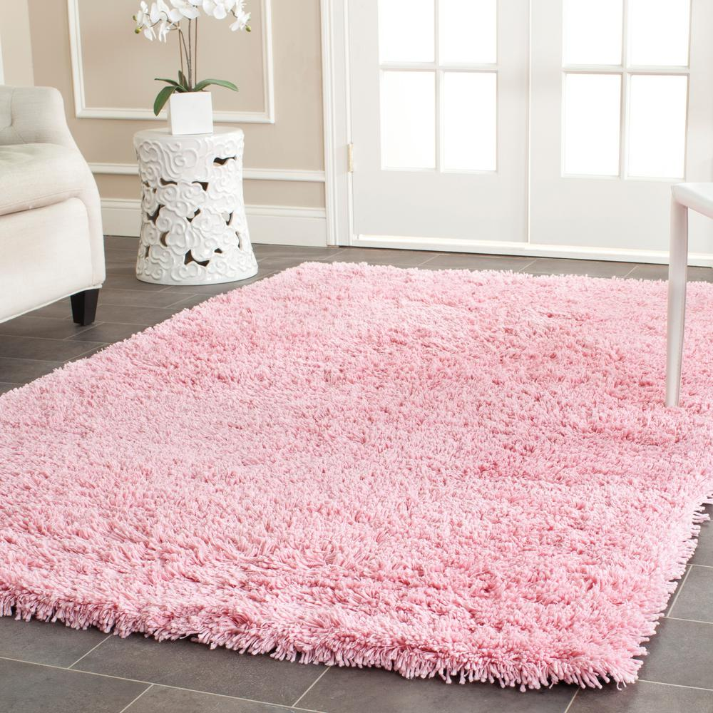 Safavieh Classic Shag Ultra Pink 6 ft. x 9 ft. Area Rug