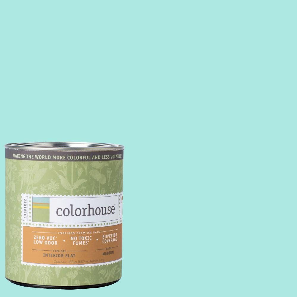 Colorhouse 1-qt. Sprout .01 Flat Interior Paint-671115 - The Home Depot