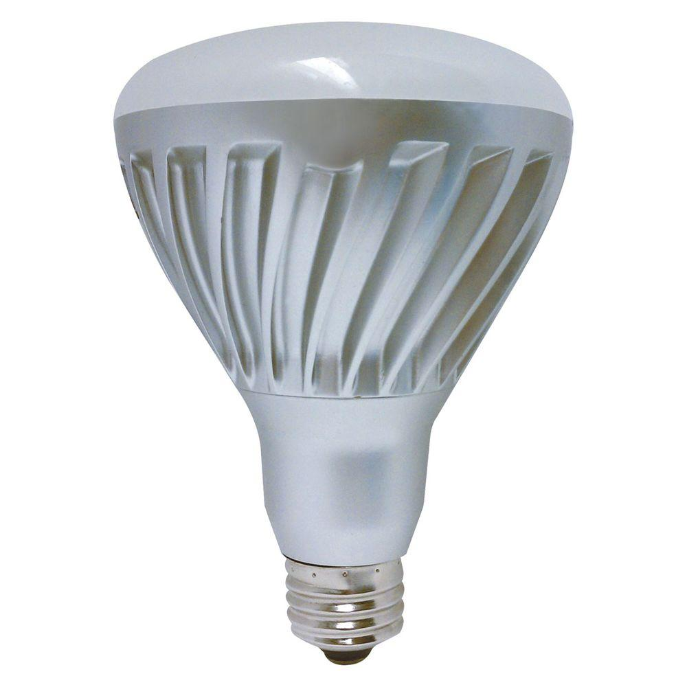 GE 75W Equivalent Soft White  BR30 Dimmable LED Light Bulb-DISCONTINUED