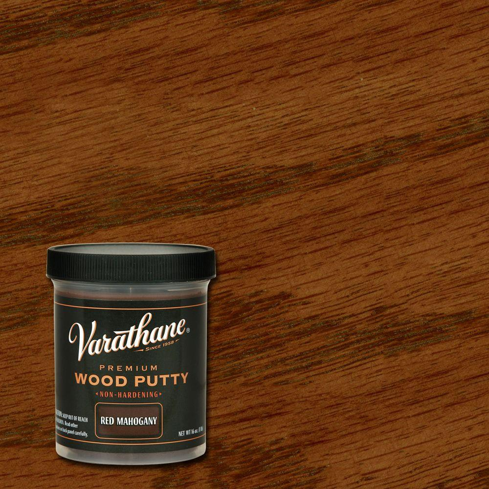 16 oz. Red Mahogany Wood Putty (Case of 4)