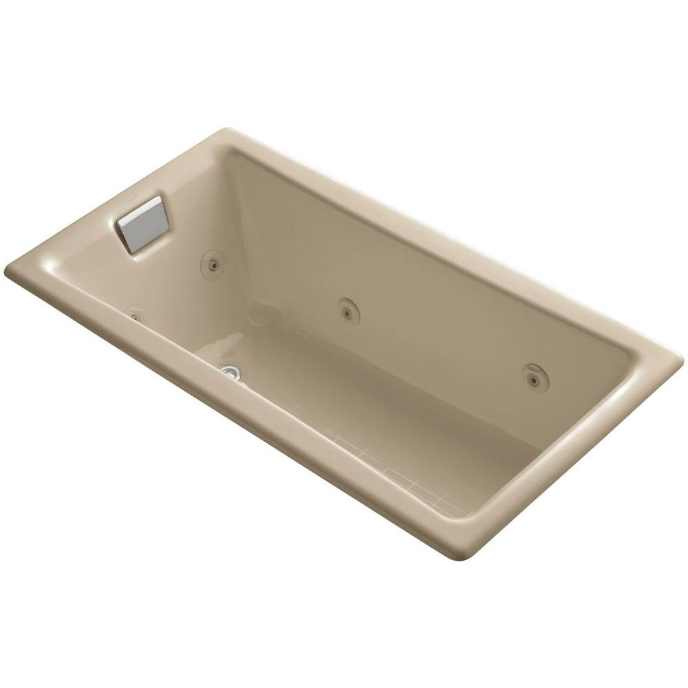 Kohler Tea For Two 5 Ft Whirlpool Bath Tub In Mexican