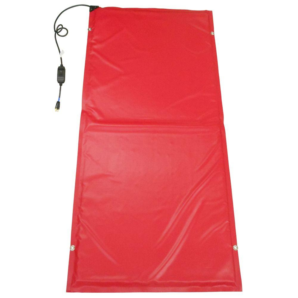 13 ft. x 3 ft. Heated Ground Thaw Blanket