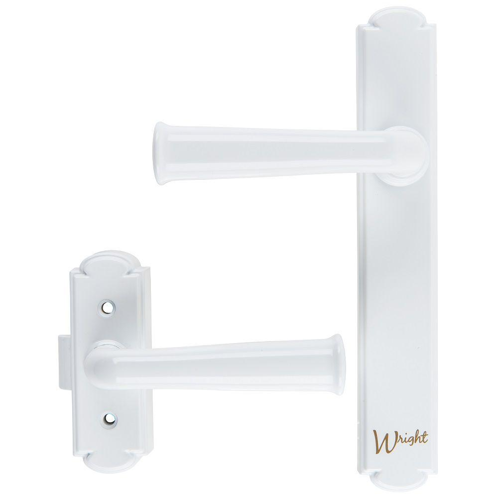 Washburn White Surface Latch